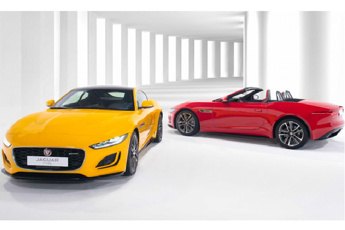 Jaguar F-TYPE 2021 cao nhat toi 15,2 ty dong tai Viet Nam