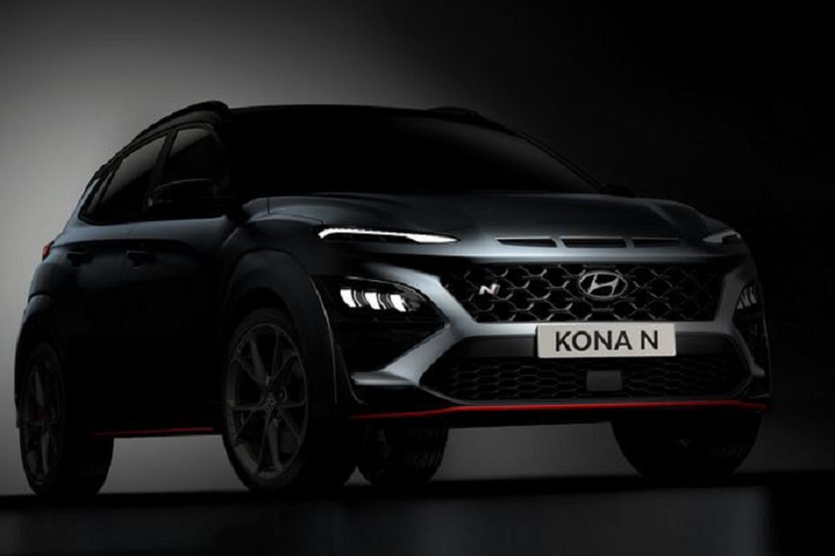Hyundai Kona N 2022, ban cao cap va the thao nhat cua Kona