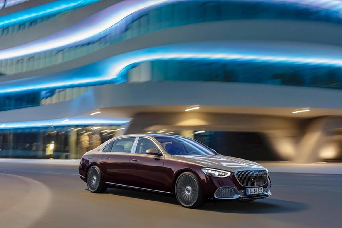 Xe sieu sang Mercedes-Maybach S-Class 2021 tu 4,29 ty dong tai My