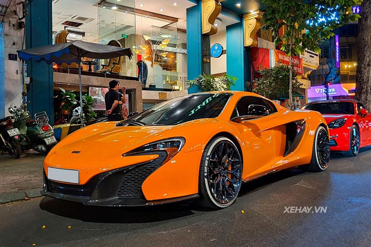 Dai gia Can Tho ban McLaren 650S Spider tro lai Sai Gon