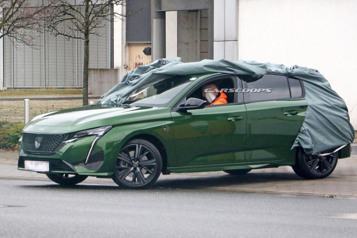 Peugeot 308 hatchback moi lo dien tuyet dep khi bo lop nguy trang-Hinh-2