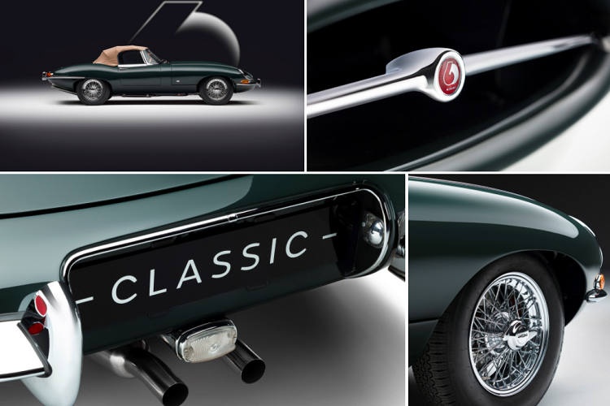 Bo suu tap Jaguar E-Type cuc hiem,