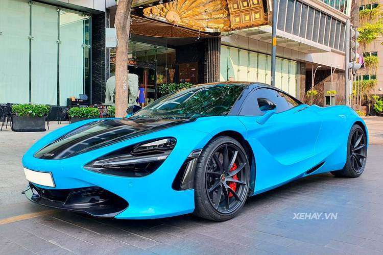 Watch McLaren 720S super brand with more than 20 million on Sai Thanh-Hinh-2 phoenix