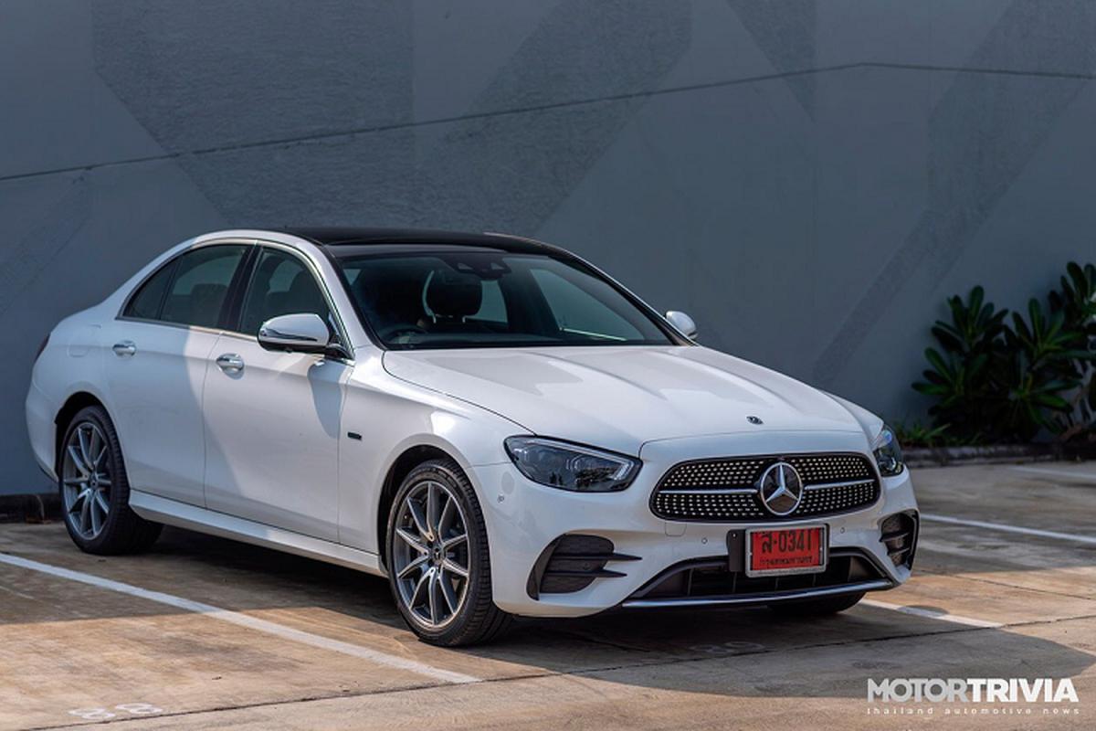 Mercedes-Benz E-Class 2021 tu 2,46 ty dong sap ve Viet Nam?
