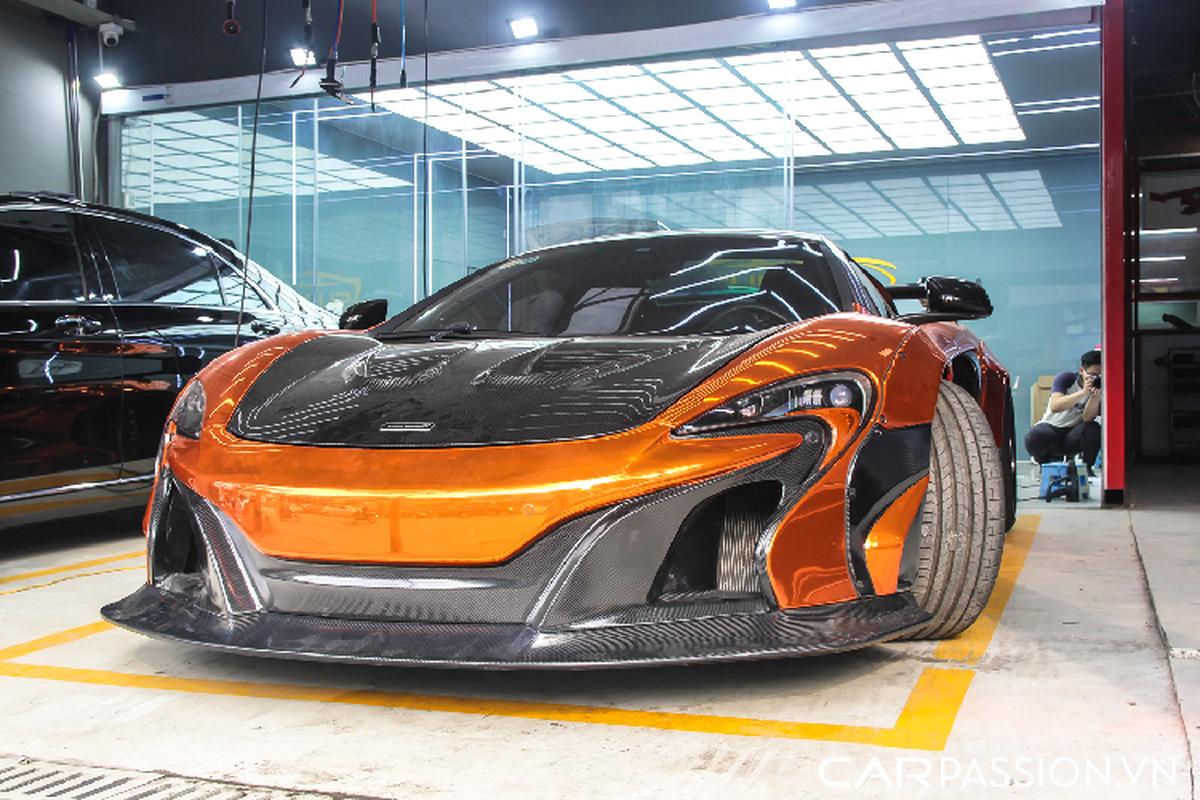 """McLaren 650S Spider Liberty Walk tai Viet Nam """"lot xac"""" dan ao moi-Hinh-4"""