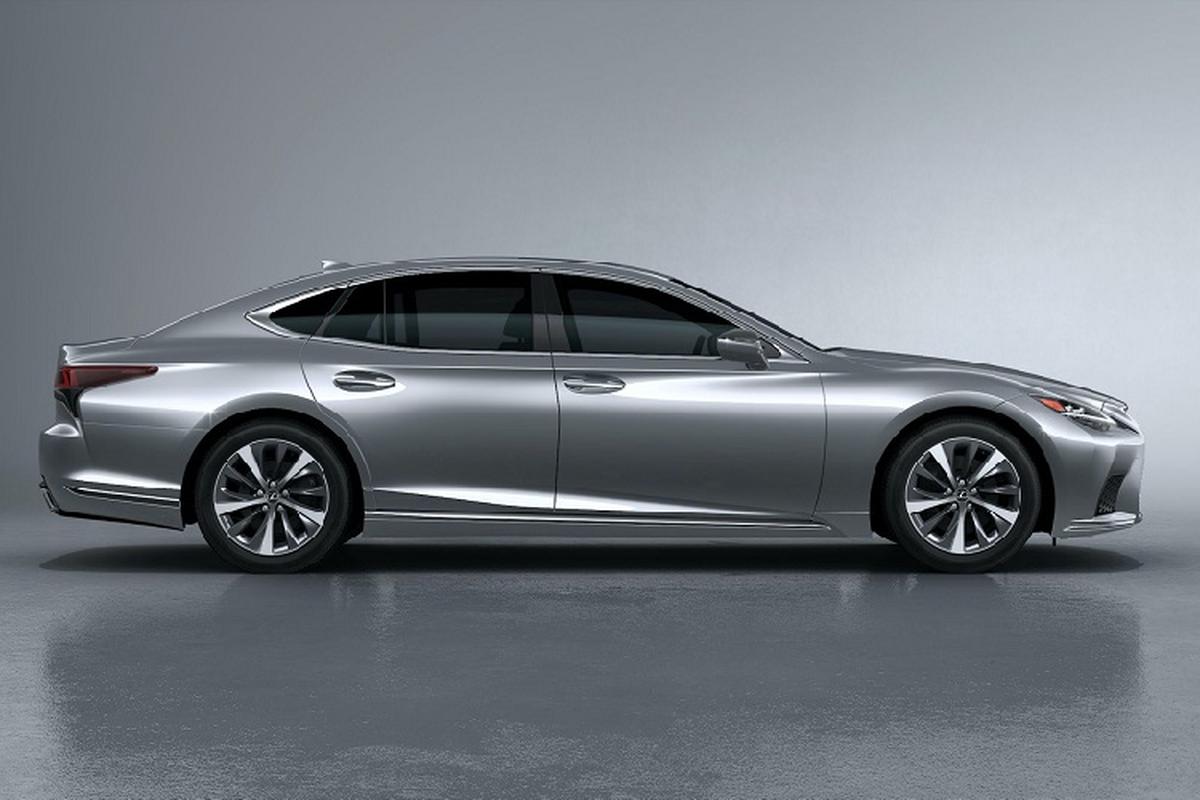 Xe sang Lexus LS 500h 2021 se ban ra tu 2,11 ty dong?-Hinh-4