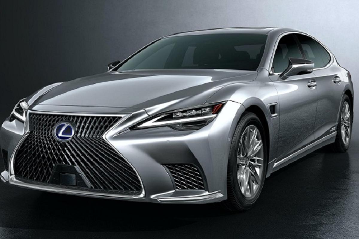 Xe sang Lexus LS 500h 2021 se ban ra tu 2,11 ty dong?