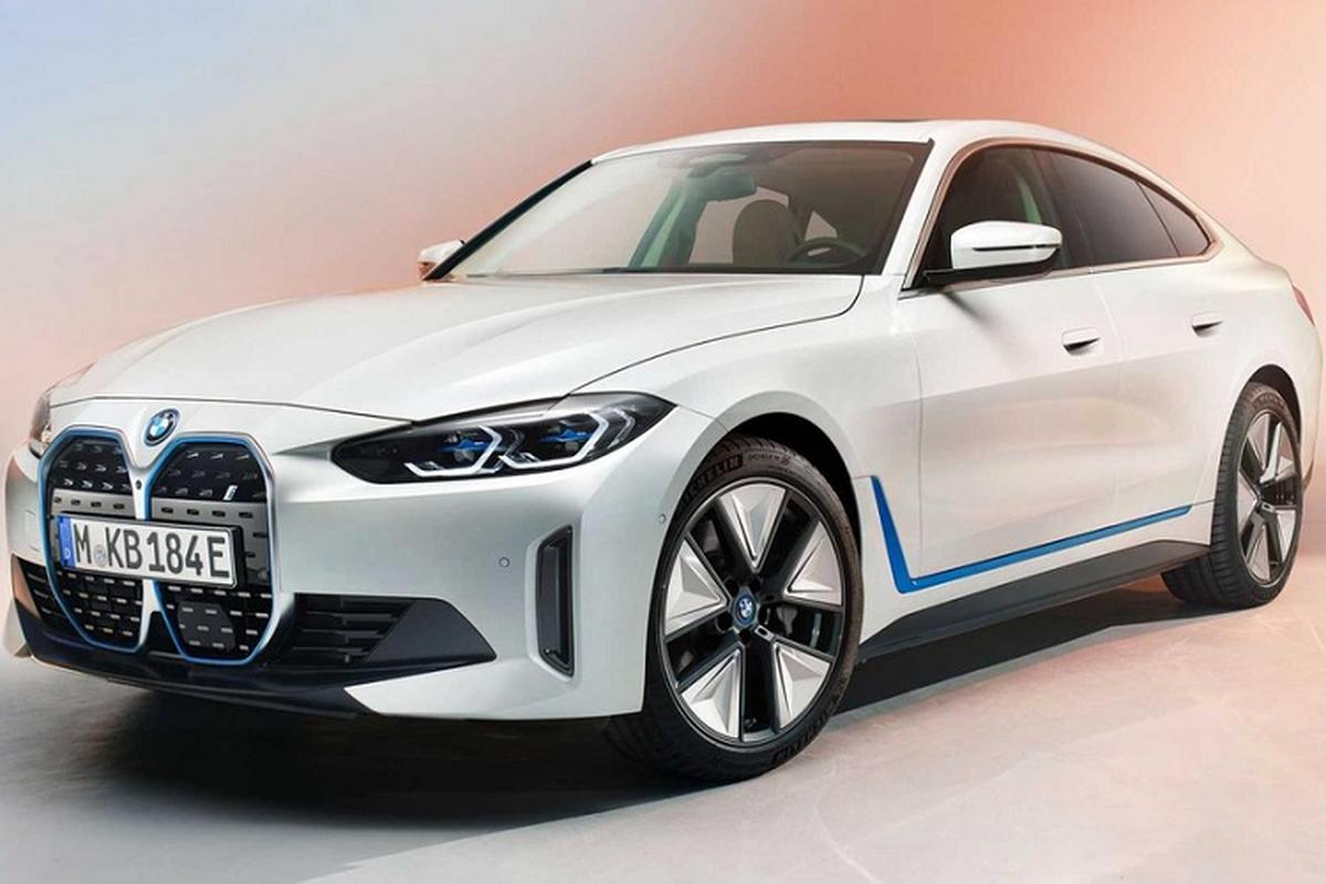 BMW i4 2022, coupe dien manh 523 ma luc chinh thuc trinh lang-Hinh-2