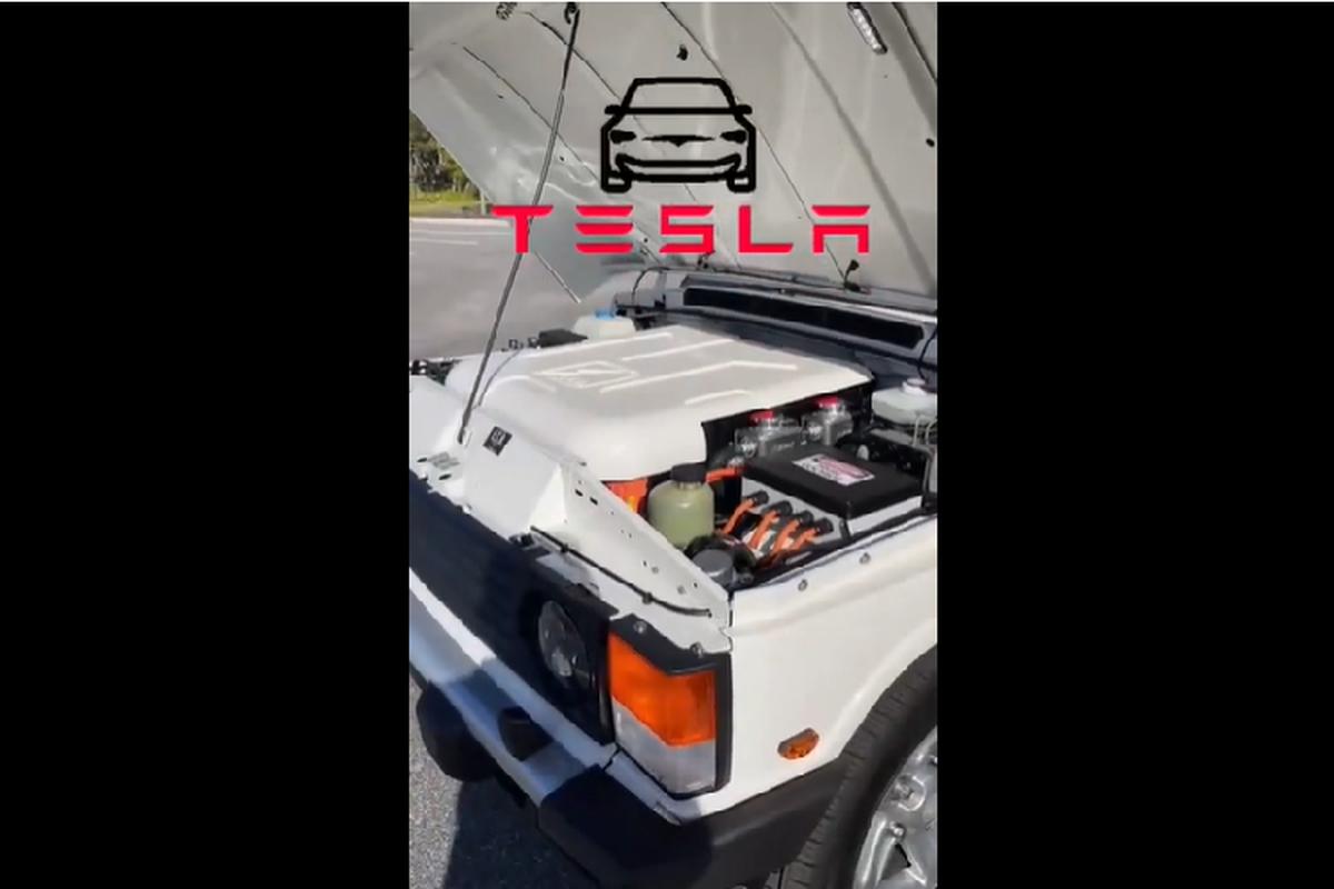 Mat 2.200 gio do mo to dien Tesla cho Range Rover co dien-Hinh-5