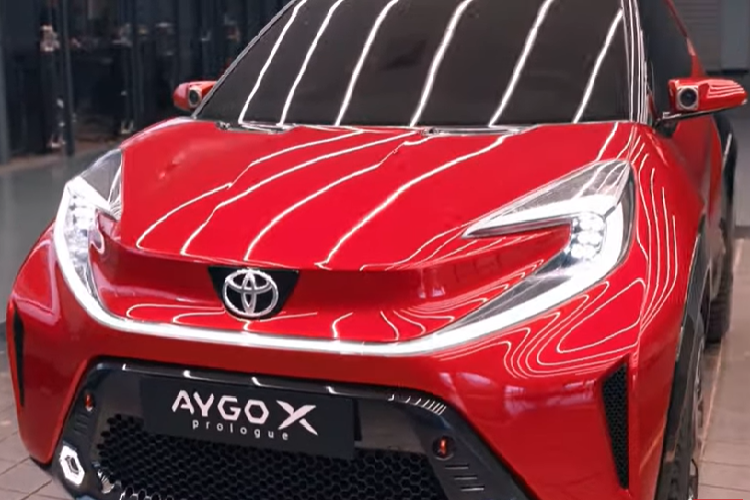 Toyota Aygo X Prologue 2023, crossover ti hon sap ra mat co gi?-Hinh-4