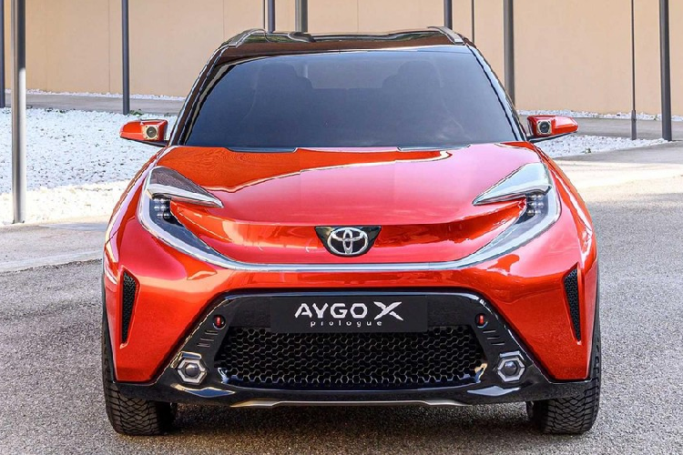 Toyota Aygo X Prologue 2023, crossover ti hon sap ra mat co gi?-Hinh-8