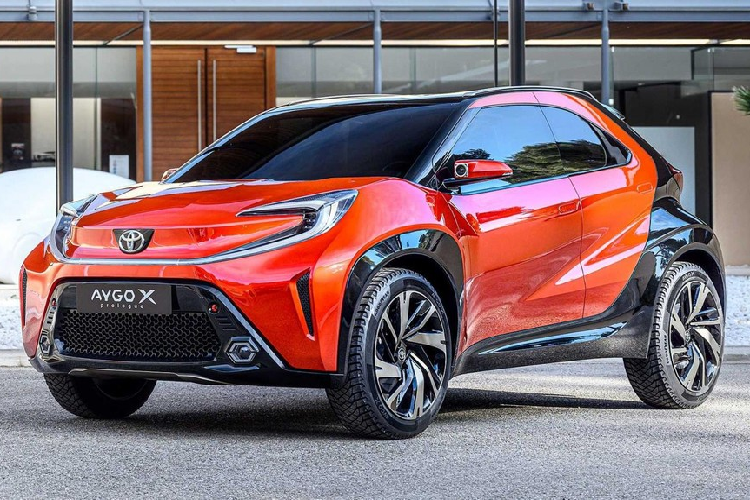 Toyota Aygo X Prologue 2023, crossover ti hon sap ra mat co gi?