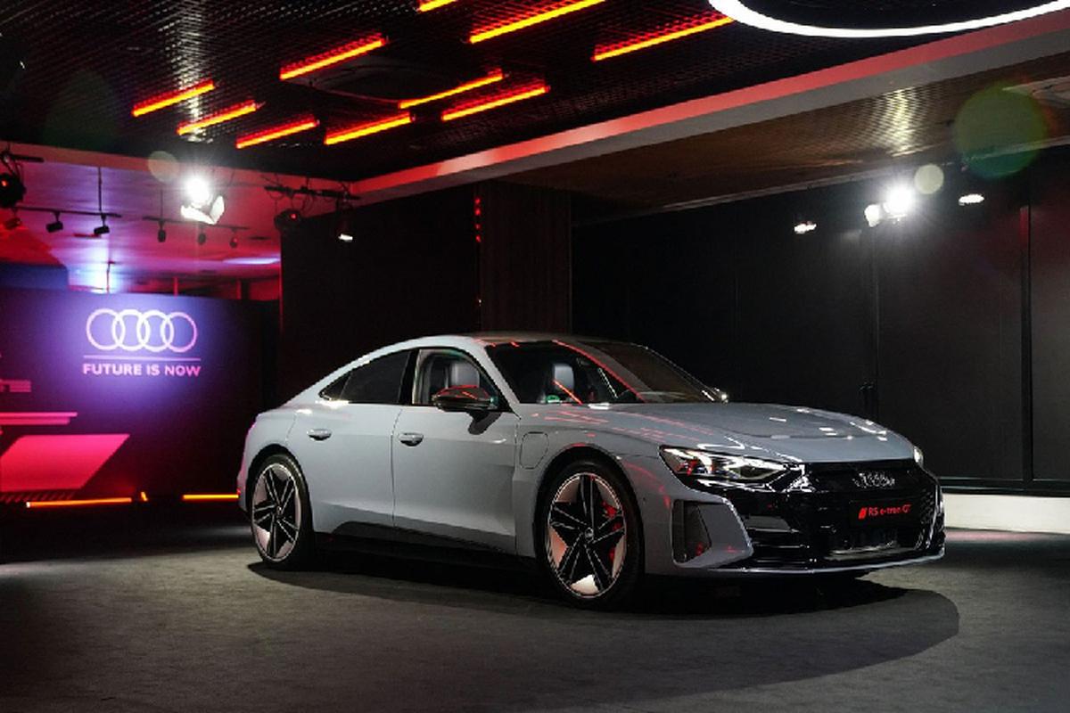 Audi e-tron GT 2022 tu 4,7 ty dong, chao Dong Nam A