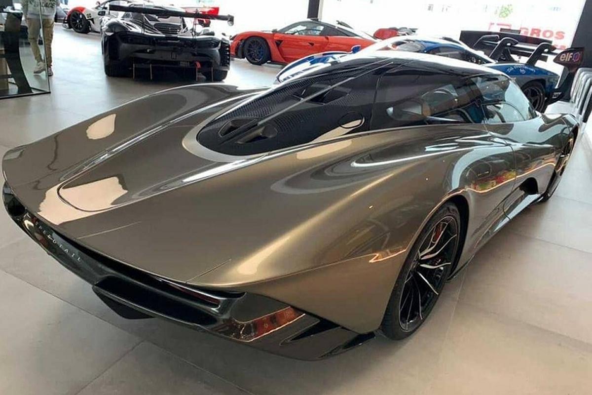Sieu xe McLaren Speedtail phien ban thoi trang doc ban tren the gioi-Hinh-7