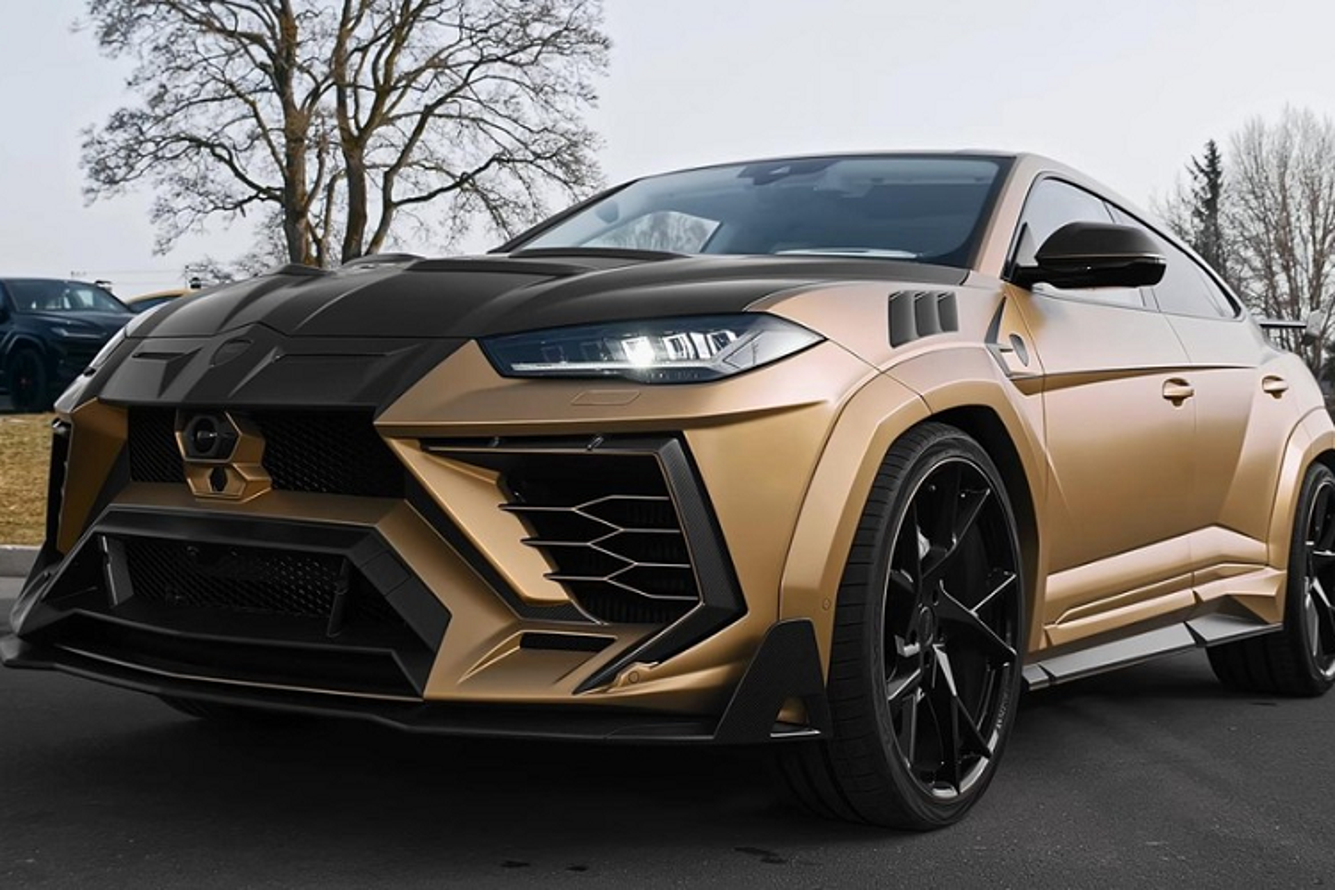 Sieu SUV Lamborghini Urus P820 2021 hon 11,4 ty dong cua Mansory