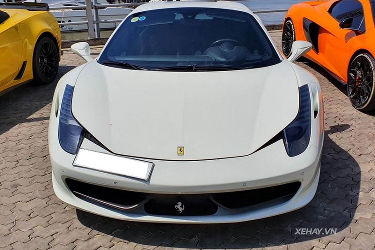 "Ferrari 458 Spider ""doc nhat"" Viet Nam do"