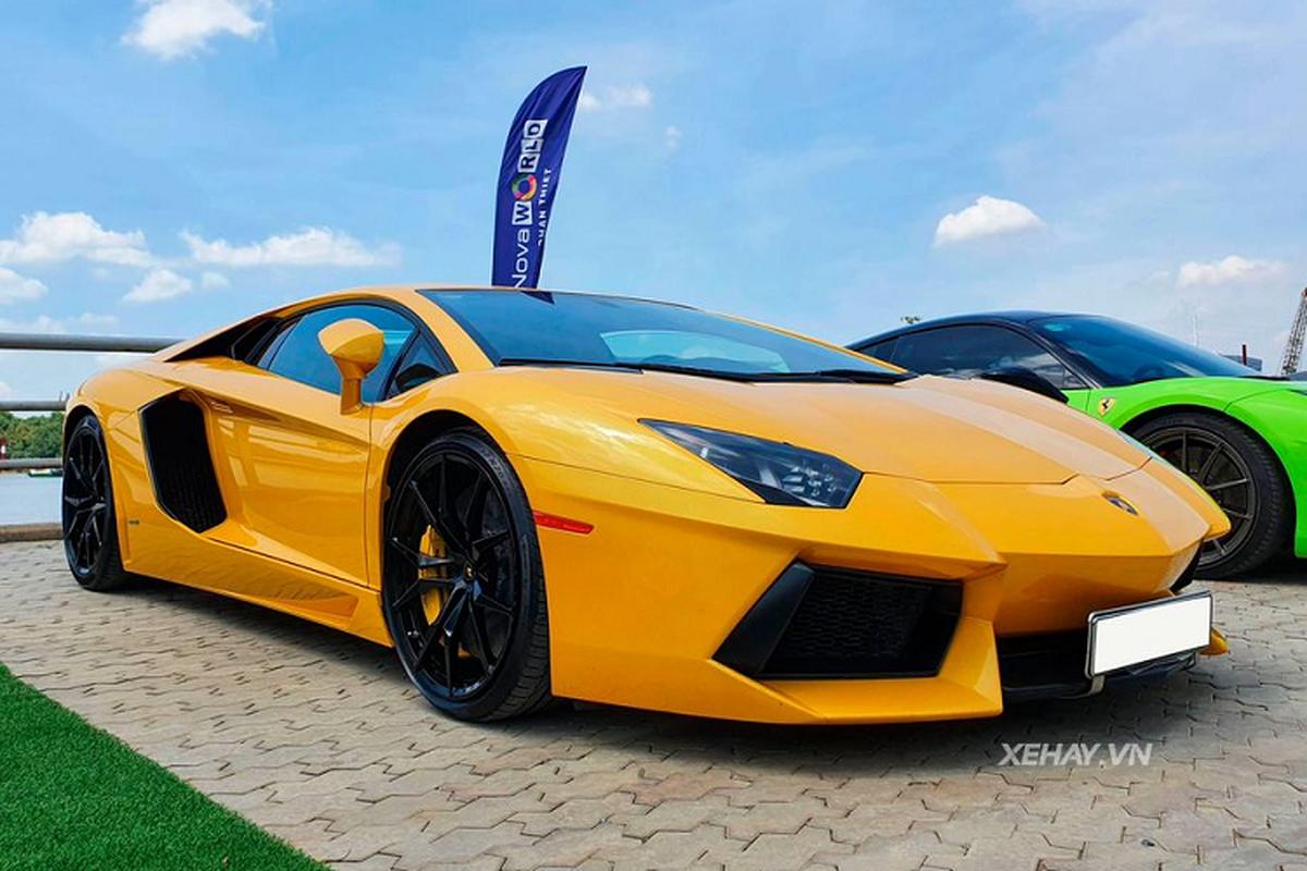 Lamborghini Aventador dau tien tai Viet Nam sau 9 nam van