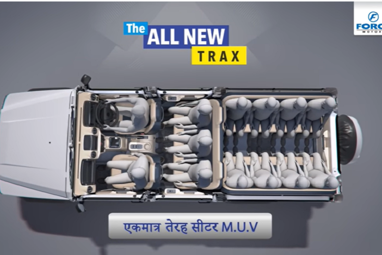 Force Motors Trax 2021