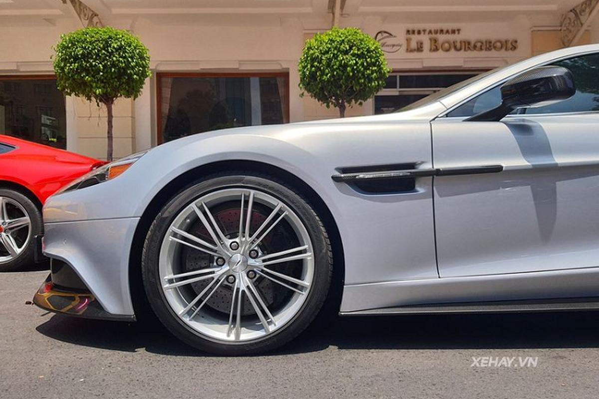 Aston Martin Vanquish phong cach DB5 cua diep vien 007 o Sai Gon-Hinh-5