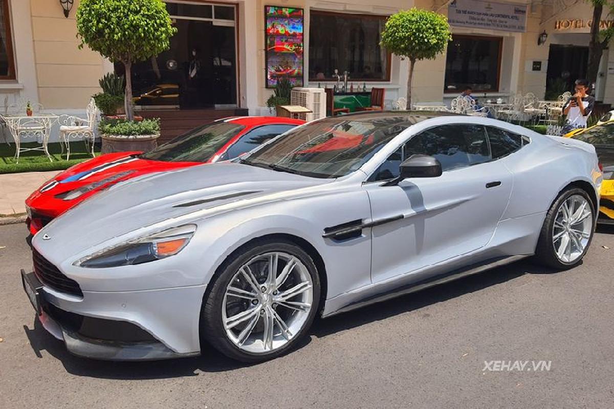 Aston Martin Vanquish phong cach DB5 cua diep vien 007 o Sai Gon