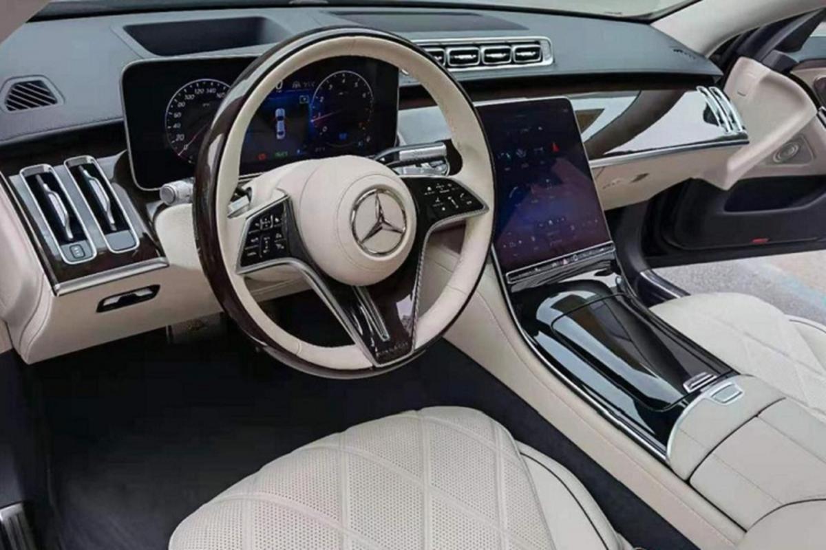 Mercedes-Maybach S480 2021 moi - sieu sang Maybach S-Class re nhat-Hinh-4