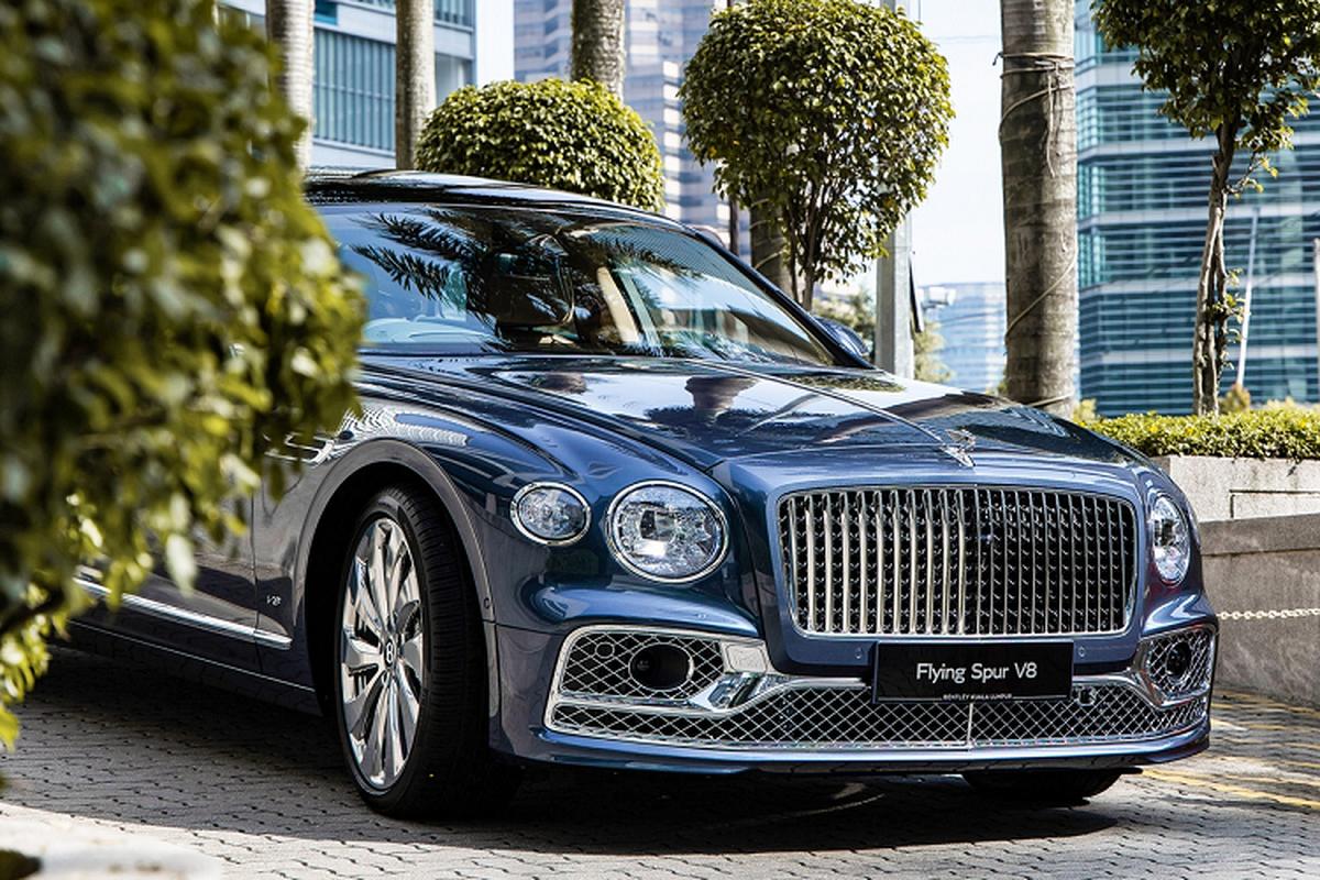 Bentley Flying Spur V8 tu 4,68 ty dong tai Malaysia, sap ve VN