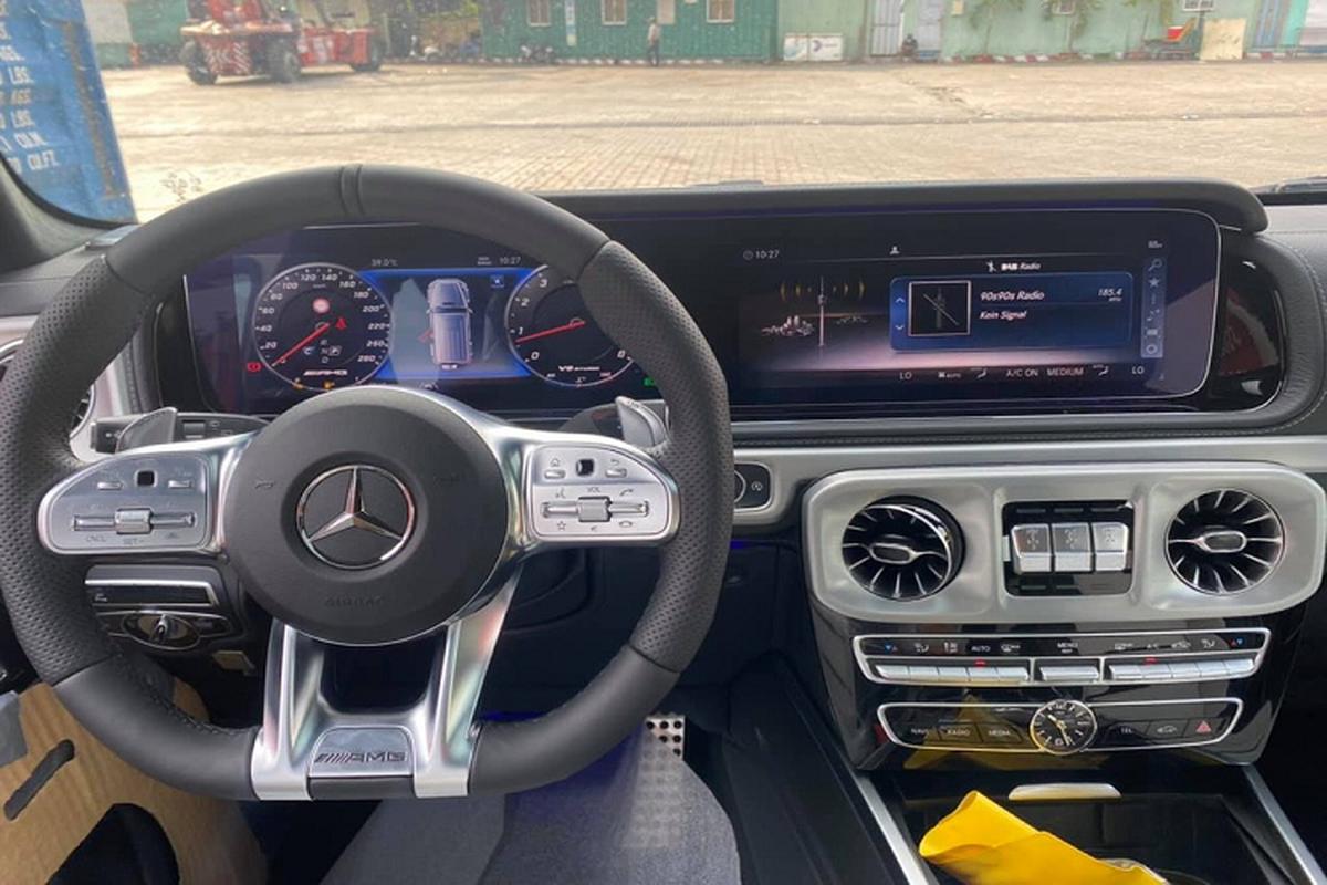 Mercedes-AMG G63 2021 mau doc, hon 10 ty ve Viet Nam-Hinh-6