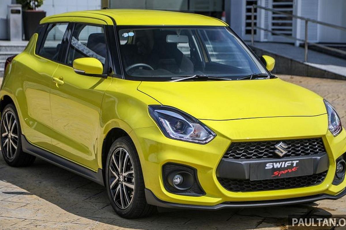 Suzuki Swift Sport tu 800 trieu dong tai Malaysia, co ve Viet Nam?