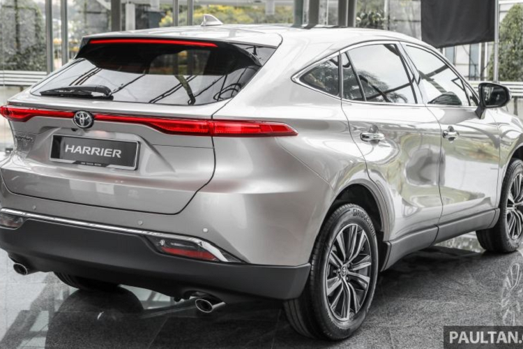 Toyota Harrier 2021 tu 1,39 ty dong Dong Nam A, co ve Viet Nam?-Hinh-2