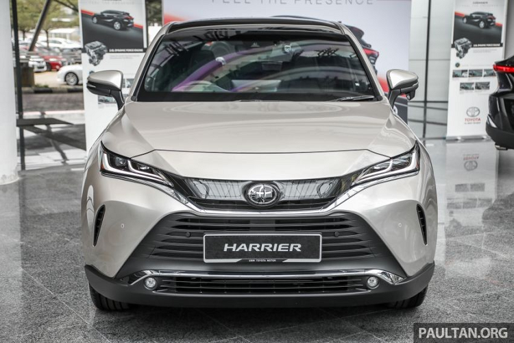 Toyota Harrier 2021 tu 1,39 ty dong Dong Nam A, co ve Viet Nam?-Hinh-3