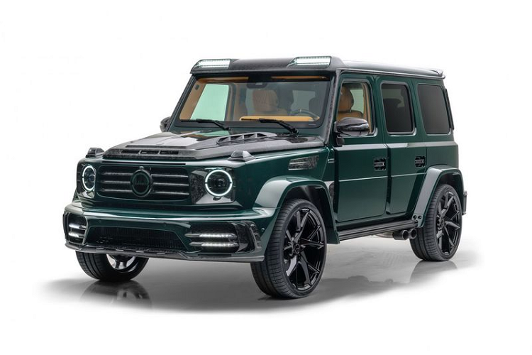 """Mansory """"hoi sinh"""" Gronos - Mercedes-AMG G63 dac biet hon 15 ty dong"""
