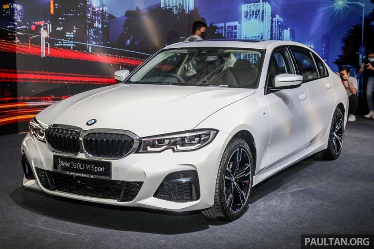 Chi tiet BMW 3-Series Li tu 1,45 ty dong, sap ve Viet Nam?