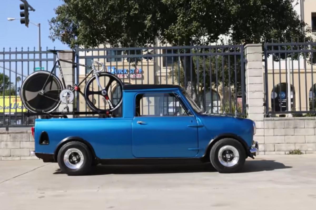 Ban tai Austin Mini Truck 1962 ti hon co dien