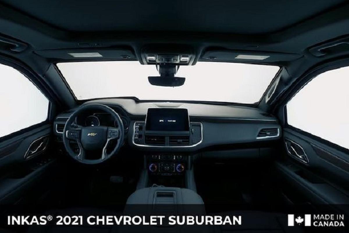 Chevrolet Suburban 2021 chong dan AK-47, luu dan DM51 nho Inkas-Hinh-5