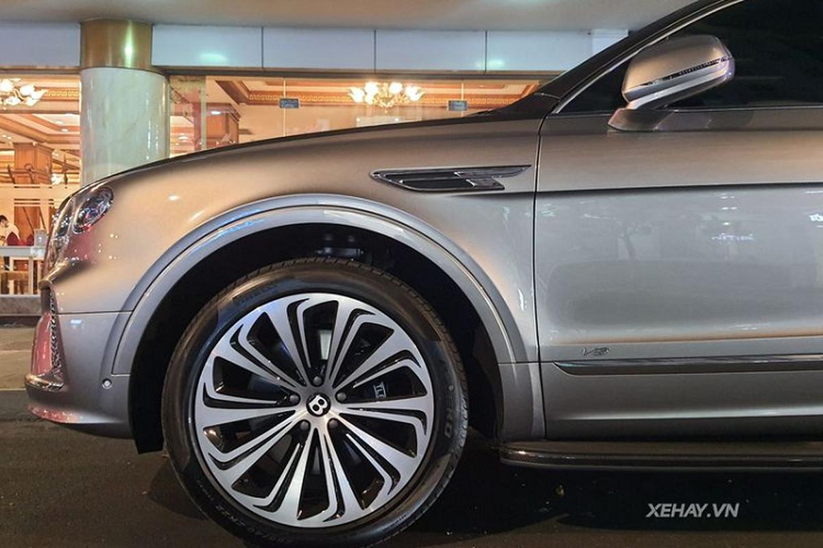 SUV sieu sang Bentley Bentayga V8 2021 hon 17 ty ve Viet Nam-Hinh-4