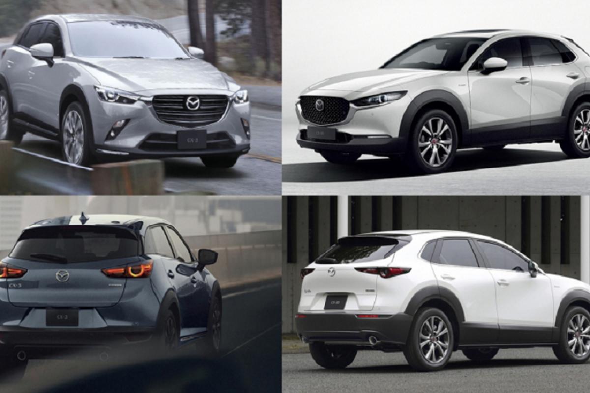 Mazda CX-3 va CX-30 moi tu 550 trieu dong sap ra mat Viet Nam?