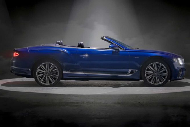 Details of super luxury cars to Bentley Continental GT Speed ​​Convertible 2021-Hinh-2