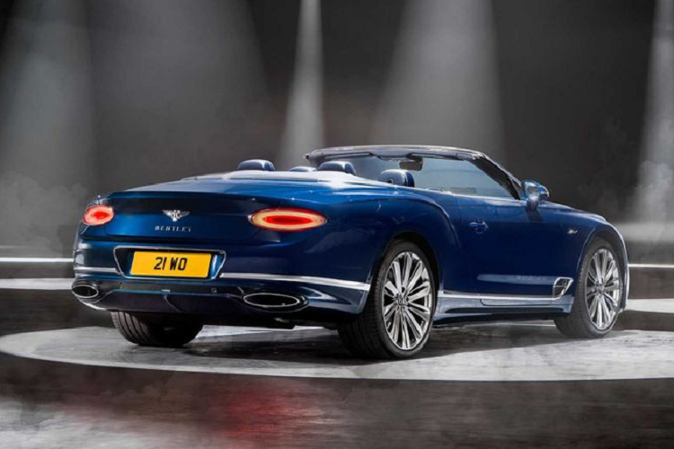 Details of super luxury cars to Bentley Continental GT Speed ​​Convertible 2021-Hinh-3