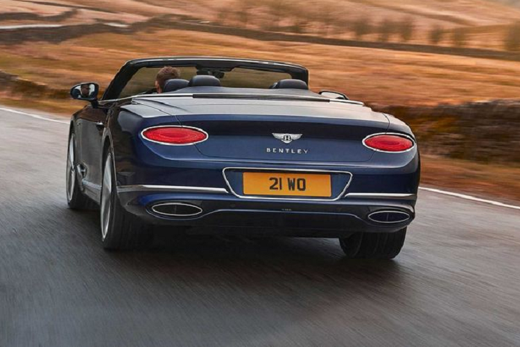 Details of super luxury cars to Bentley Continental GT Speed ​​Convertible 2021-Hinh-4
