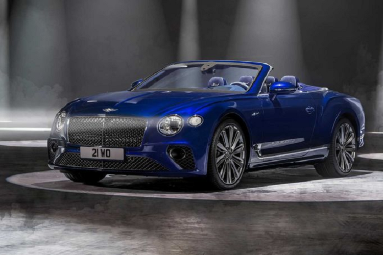 Details of super luxury cars to Bentley Continental GT Speed ​​Convertible 2021-Hinh-5