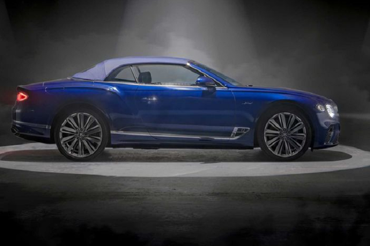 Details of super luxury cars to Bentley Continental GT Speed ​​Convertible 2021-Hinh-8