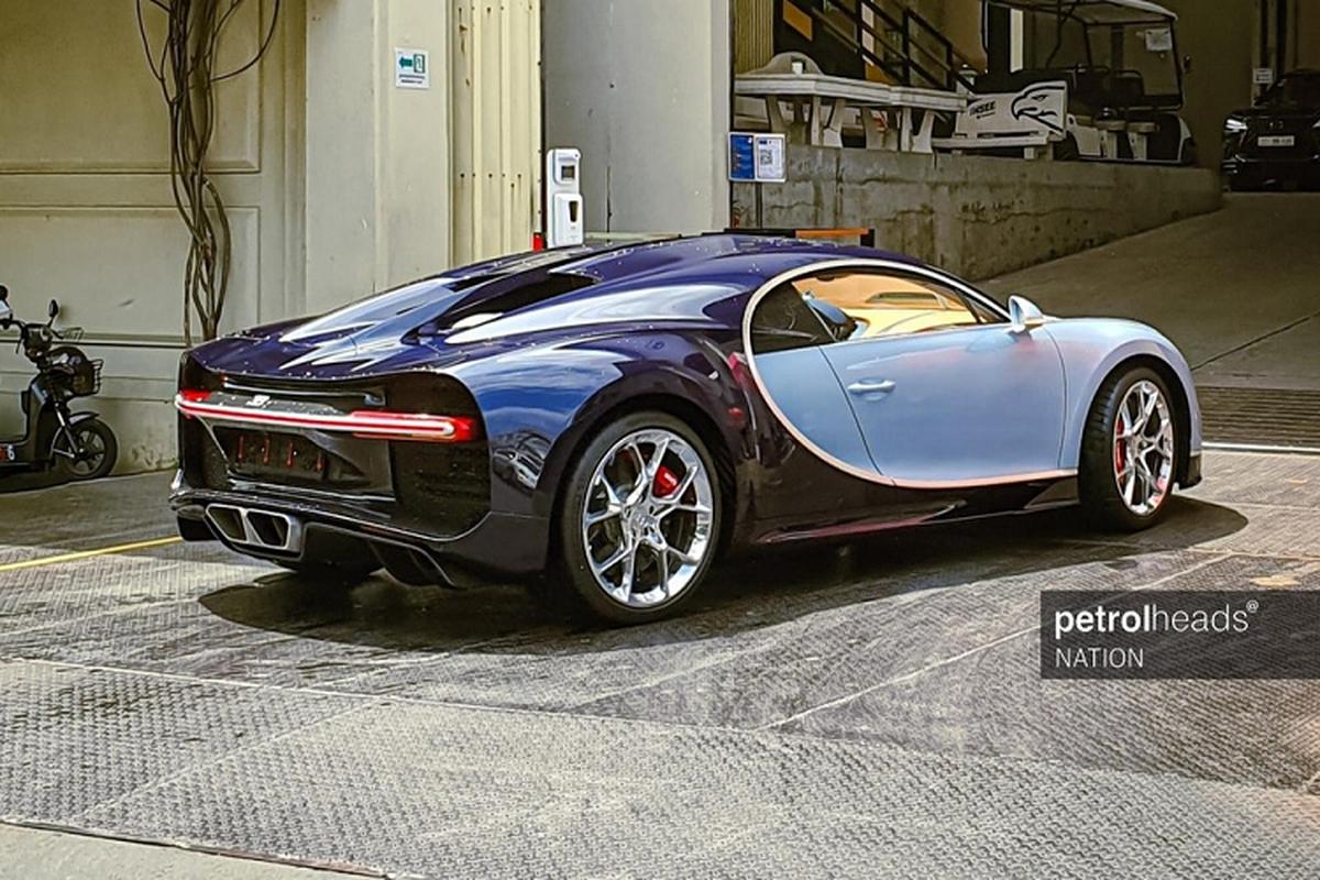 Bugatti Chiron hon 85 ty tai Campuchia, dai gia Viet