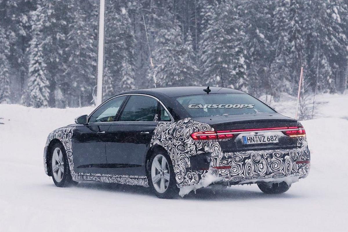 Audi A8 Horch 2022, sedan sieu sang