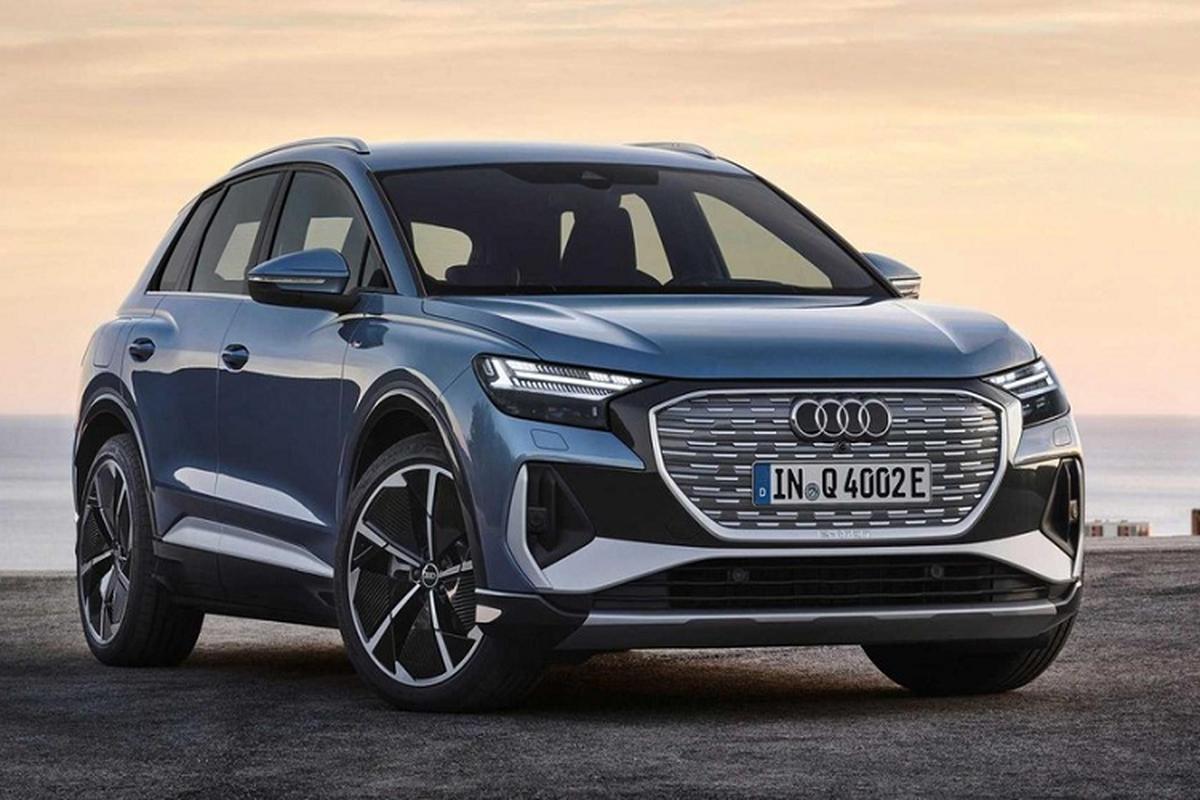 Chi tiet Audi Q4 E-Tron va Q4 Sportback E-Tron 2022 tu 45.000 USD