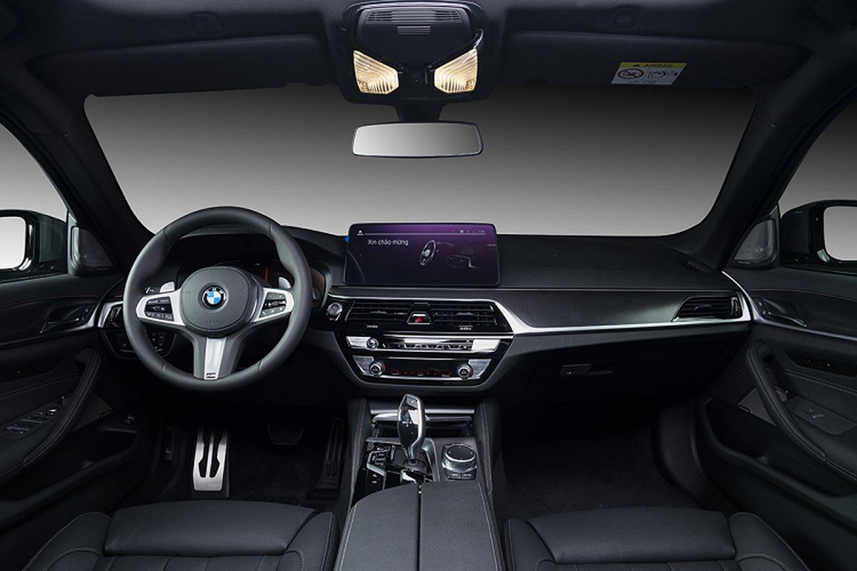 BMW 5-Series 2021 gan 2,5 ty tai Viet Nam,