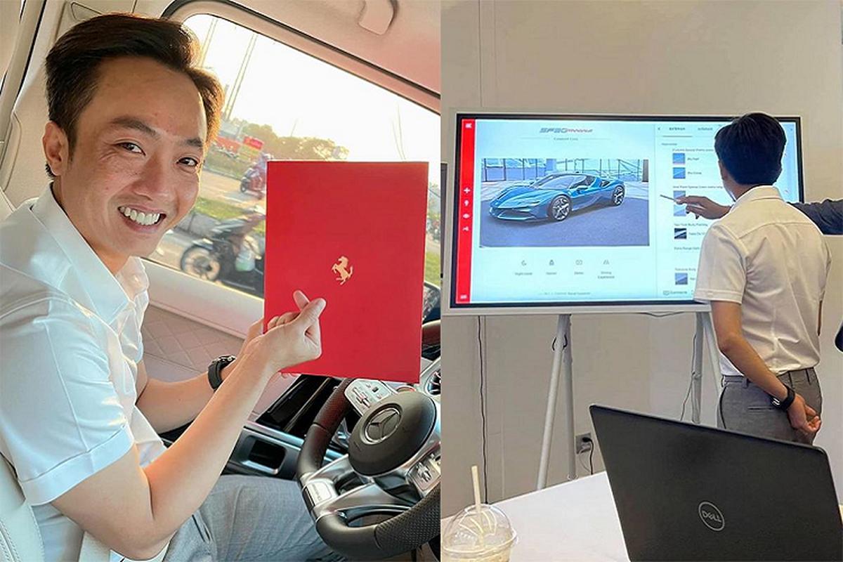 Ferrari SF90 Stradale hang chuc ty dong sap ve nha Cuong Do la