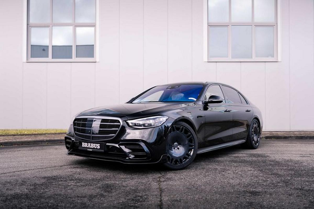 "Xe sang Mercedes-Benz S-Class 2021 ""du dan"" hon nho Brabus"