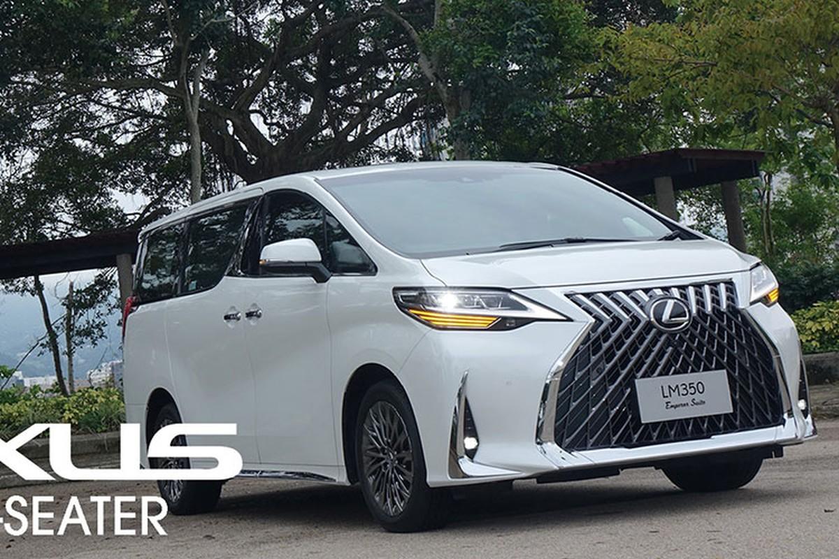 MPV hang sang Lexus LM 350 ban 4 cho tu 6,4 ty dong