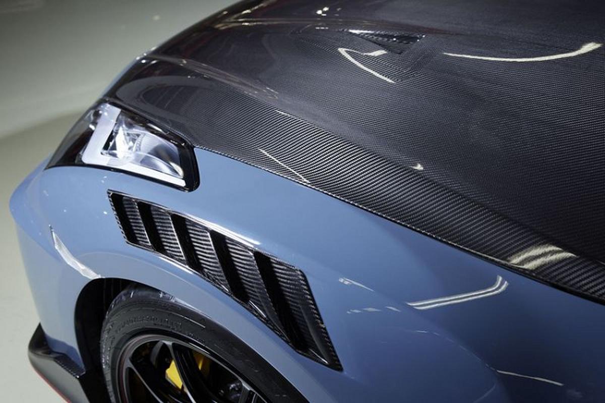 Nissan GT-R Nismo 2022 lo dien, ra mat vao thang 10/2021-Hinh-7