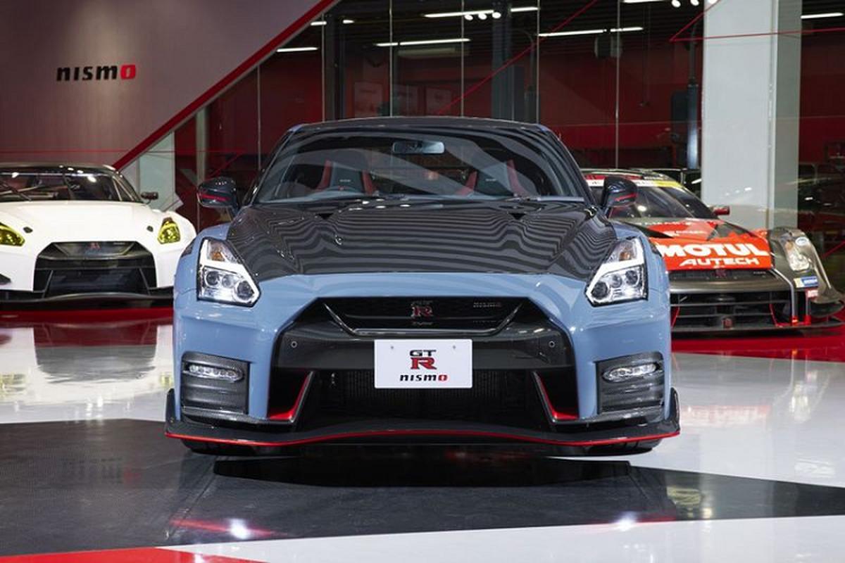 Nissan GT-R Nismo 2022 lo dien, ra mat vao thang 10/2021-Hinh-8